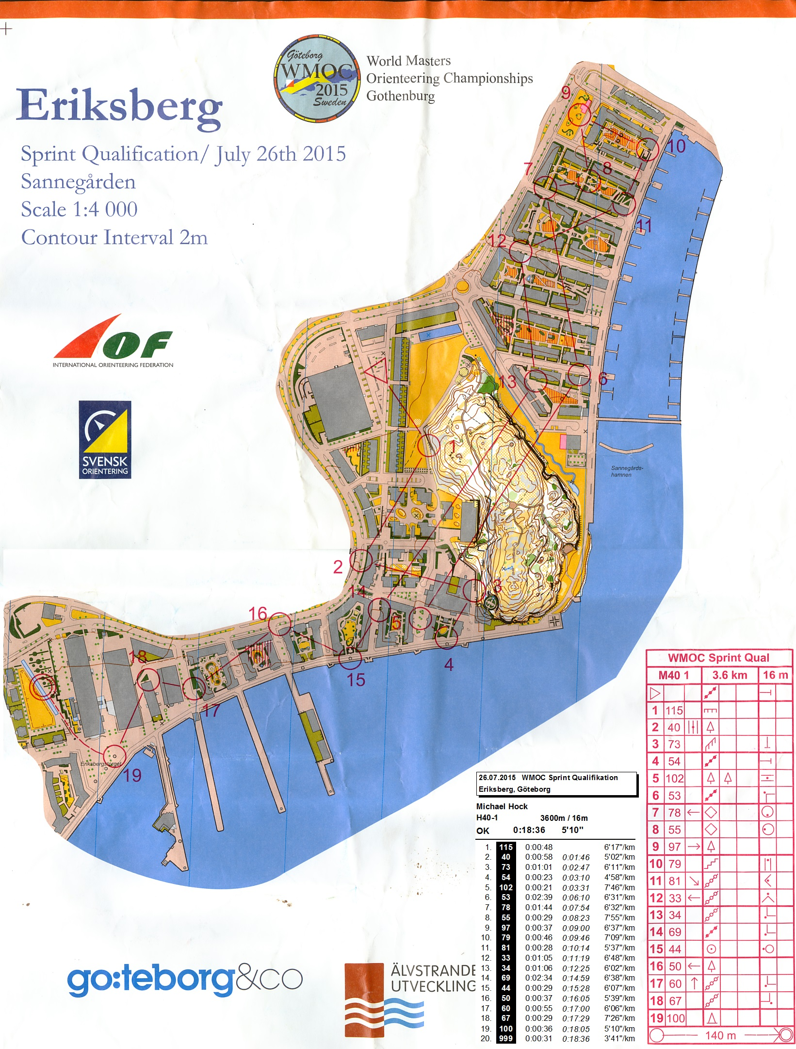 WMOC 2015 Sprint Qualification (26.07.2015)