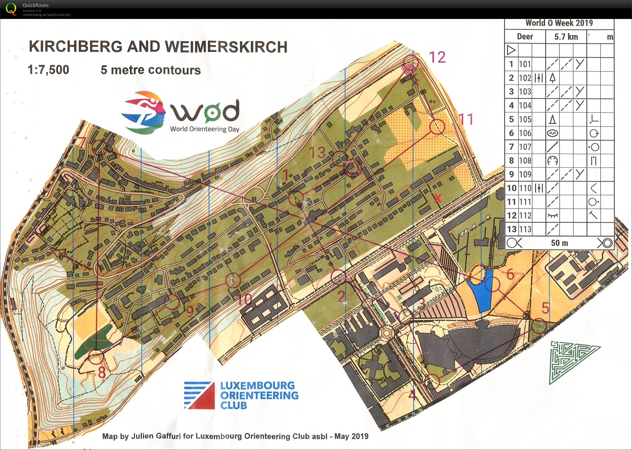 World Orienteering Day (16.05.2019)
